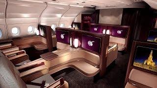 Brandnew Qatar A-380 First Class Interior, hints at a unique feature