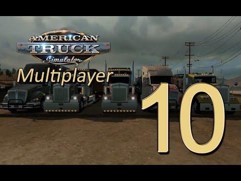 ATS Multiplayer #10 - Beat the music!