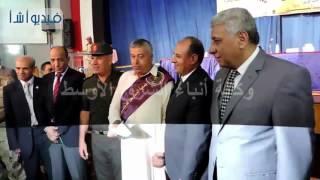 بالفيديو : محافظ البحيرة ومدير الامن يكرمان 500 من اسر الشهداء والمصابين