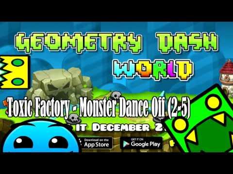 GEOMETRY DASH WORLD  Toxic Factory - Monster Dance Off // descargar la canción - Download the song