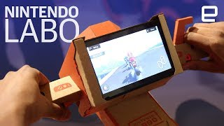 Nintendo Labo hands-on