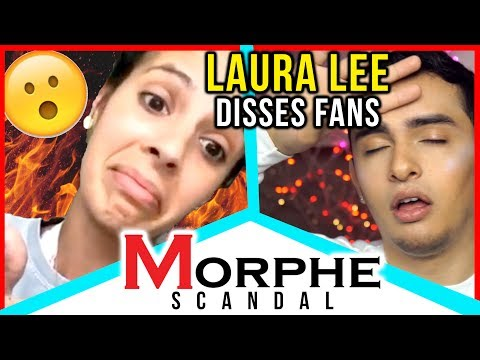 LAURA LEE DISSES FANS IN SNAPCHAT RANT!! Morphe Cosmetics Scandal!