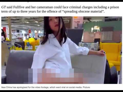 Chinese news mocks Japanese skinny/anorexic porn from YouTube · Duration:  2 minutes 3 seconds