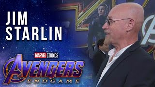 Jim Starlin at the Premiere