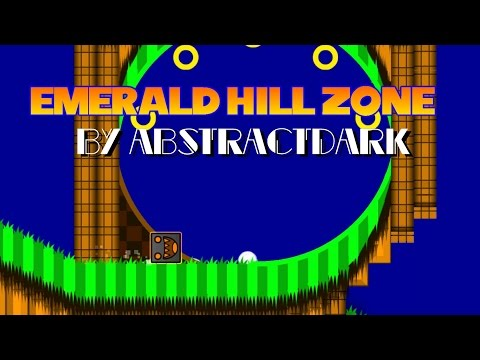 Geometry Dash- Emerald Hill Zone (By AbstractDark) *70K OBJECTS*