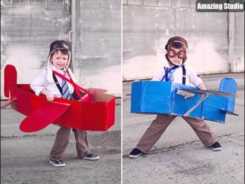 airplane toddler costume diy