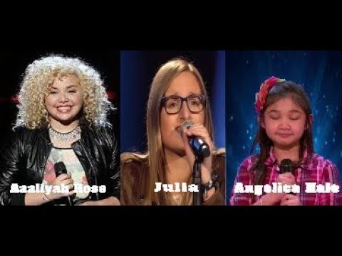 """Angelica Hale, Aaliyah Rose and Julia -""""Rise up"""""""