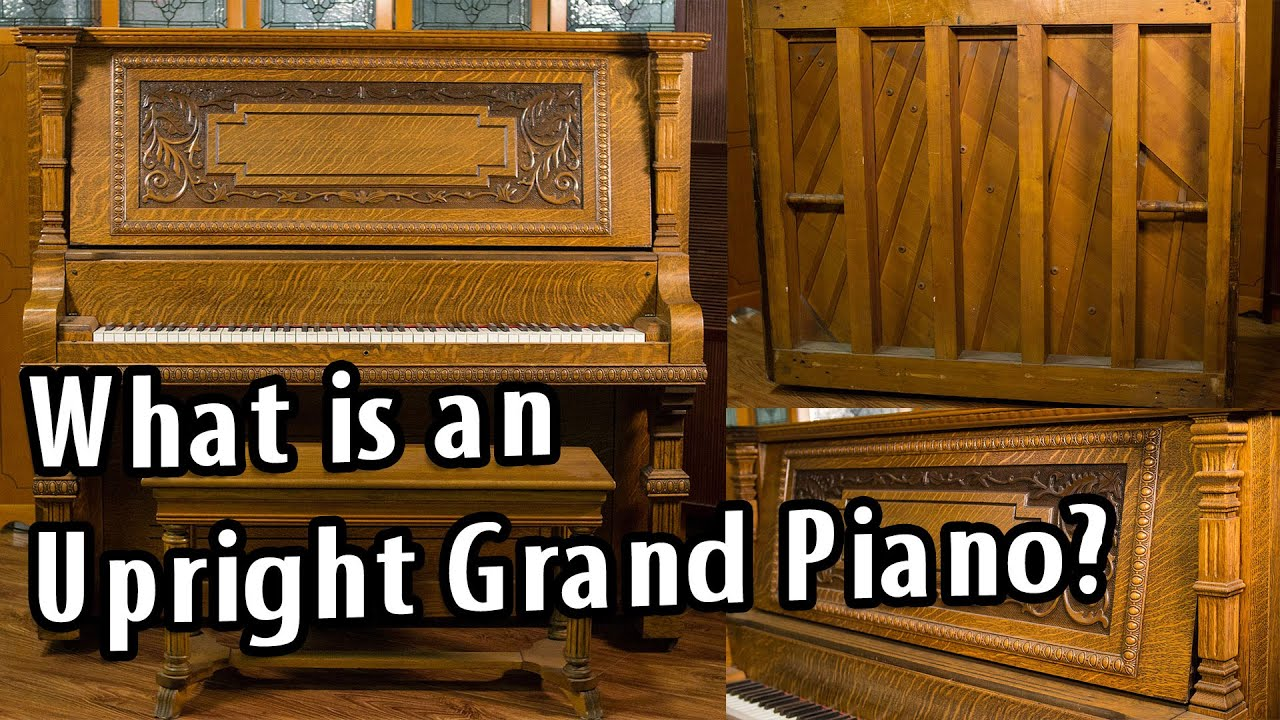 What is an upright grand piano youtube for What size is a grand piano