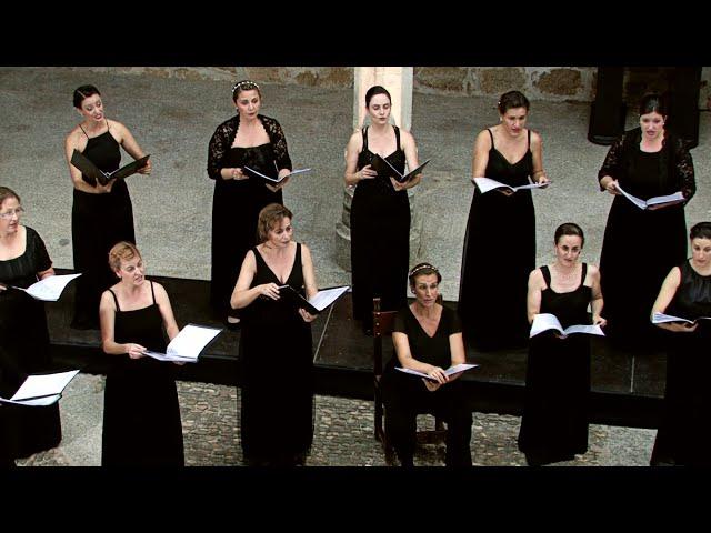 Sehnsucht, de los Sechsmädchenlieder, de H. Herzogenberg. VokalArs. Dir.: Nuria Fernández Herranz.