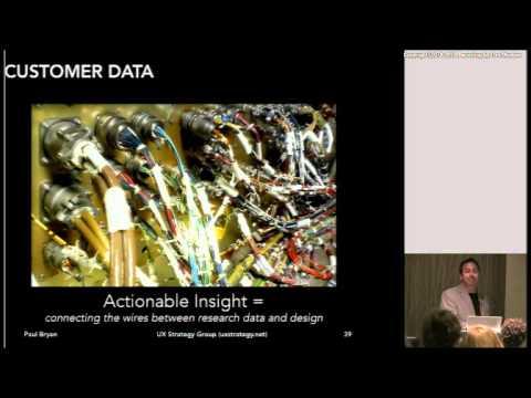Developing A UX Strategy - Paul Bryan at UXPA 2013