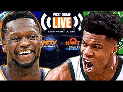 New York Knicks Vs. Milwaukee Bucks Post Game Show: Highlights, Analysis & Caller Reactions