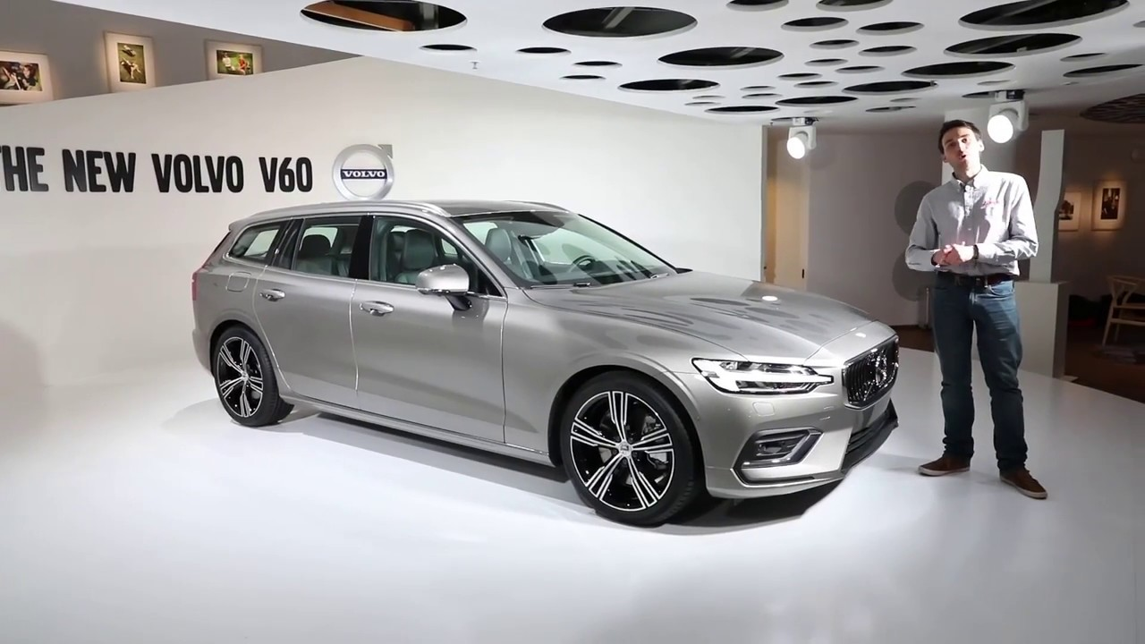volvo v60 2018 pr sentation du nouveau break volvo youtube. Black Bedroom Furniture Sets. Home Design Ideas