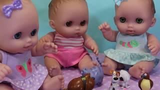 Ляльки Пупсики Нові друзі. Іграшки для дітей Зырики ТБ