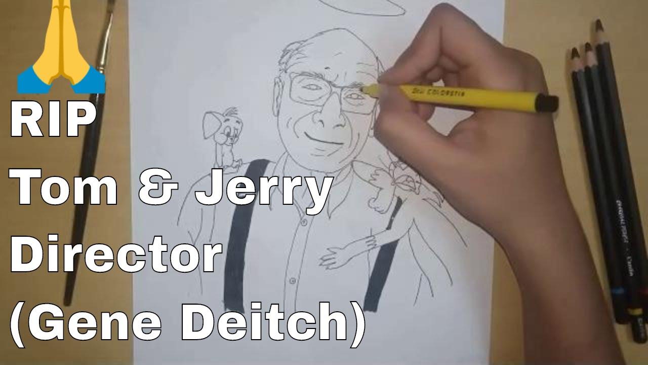 RIP Gene Deitch 🙏🏻 || QUICK SKETCH || TOM AND JERRY || TRIBUTE TO GENE DEITCH