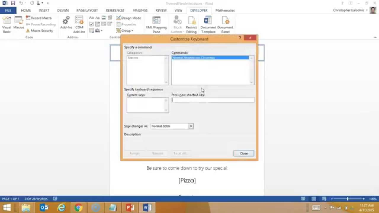 Creating a macro enabled template in word youtube for Microsoft word macro enabled template