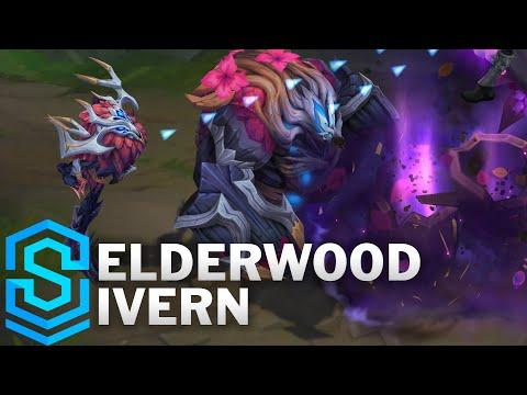 Elderwood Ivern Skin Spotlight - Pre-Release - League of Legends