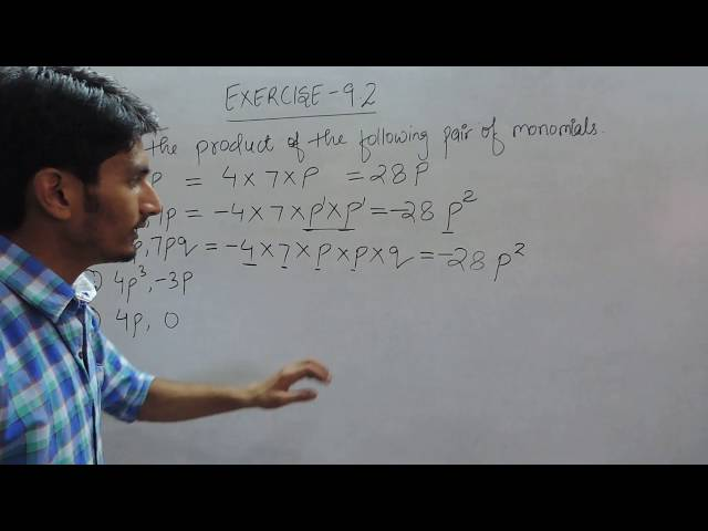 Exercise 9.2 - Question 1 (i,ii,iii,iv,v) NCERT Solutions for Class 8th Maths Chapter 9