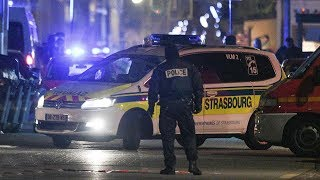 Strasbourg shooting: France, Germany tighten border security as police hunt attacker