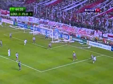 LDU Quito 4 x 2 Fluminense - Final da Libertadores de 2008 (Jogo Completo)