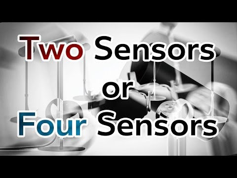 Two Sensors or Four? Oculus Rift + Touch  ...and Drones...