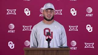 OU Football: Hall talks offense