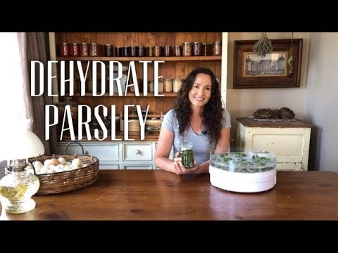 How to Dehydrate Parsley
