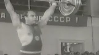 I Summer Spartakiad of the Peoples of the USSR (1956). Weightlifting.