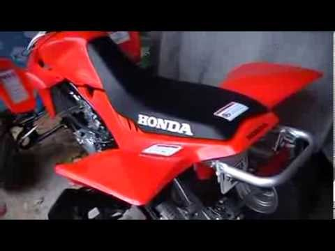 Honda 400 Ex >> How To Remove The Seat On A Honda TRX 450R - YouTube
