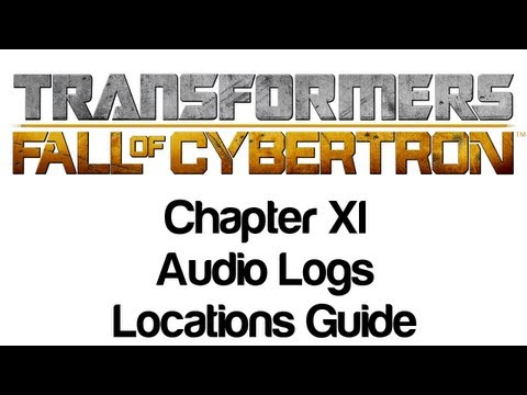 Transformers: Fall of Cybertron - Chapter XI Audio Logs Locations Guide | WikiGameGuides