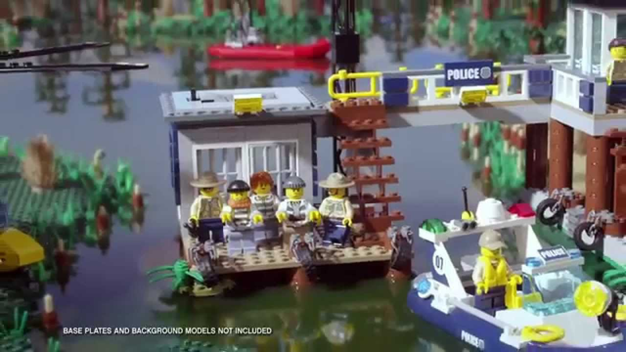 My City Swamp Police Collection - LEGO City - YouTube