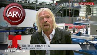 El magnate Richard Brandson habla con ARV sobre concierto en Venezuela | Al Rojo Vivo | Telemundo