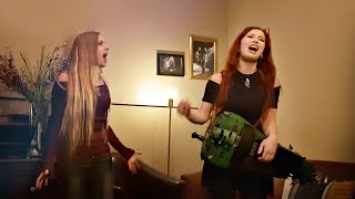 """PATTY GURDY + NOA GRUMAN DUET: """"Sands of Time"""" by Scardust, Alto Hurdy Gurdy + 2 Voices"""