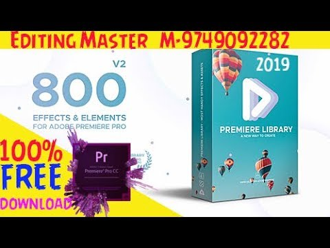 1650+ Transitions Preset Pack FREE for Premiere Pro (2019) ll 100% FREE  Download ll
