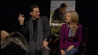 JESSI CRUICKSHANK INTERVIEWS CHANNING TATUM + AMANDA SEYFRIED