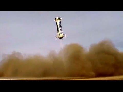 Rocket makes historic landing
