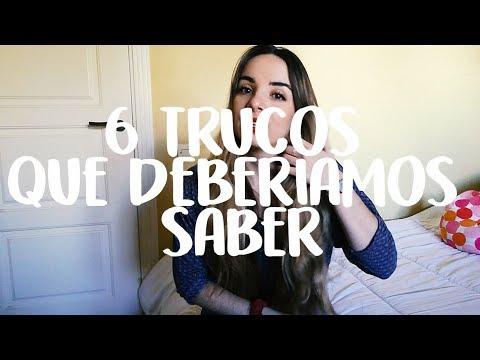 6 TRUCOS QUE DEBERIAMOS SABER!! - CELIA MANZANO :D