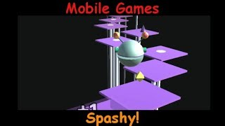 Splashy! - Arcade Bounce Game - Android and iOS Gameplay Game Review