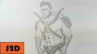 Timelapse: Drawing a Superhero