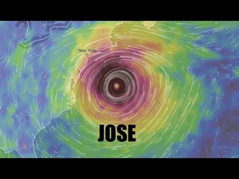 "CAT 4/Hurricane JOSE - Models show possible East Coast encounter - ""Long Shot"""