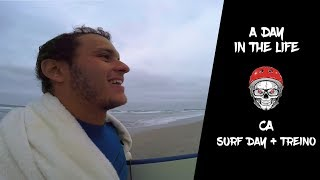RONY GOMES - A day in the life: California - Surf Day + Mega treino