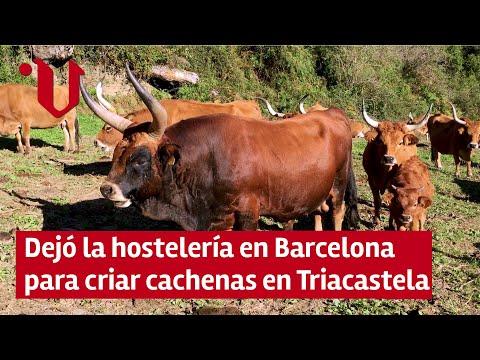 ROSTROS DE GALICIA | Jordi Anguez ► criador de vaca cachena en Triacastela