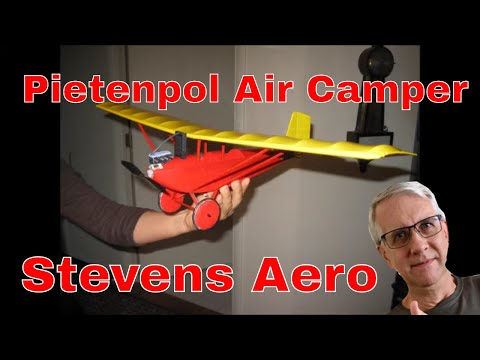 Pietenpol Air Camper RC Model Airplane