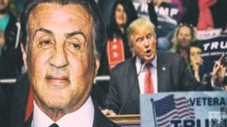 Sylvester Stallone: I love Donald Trump