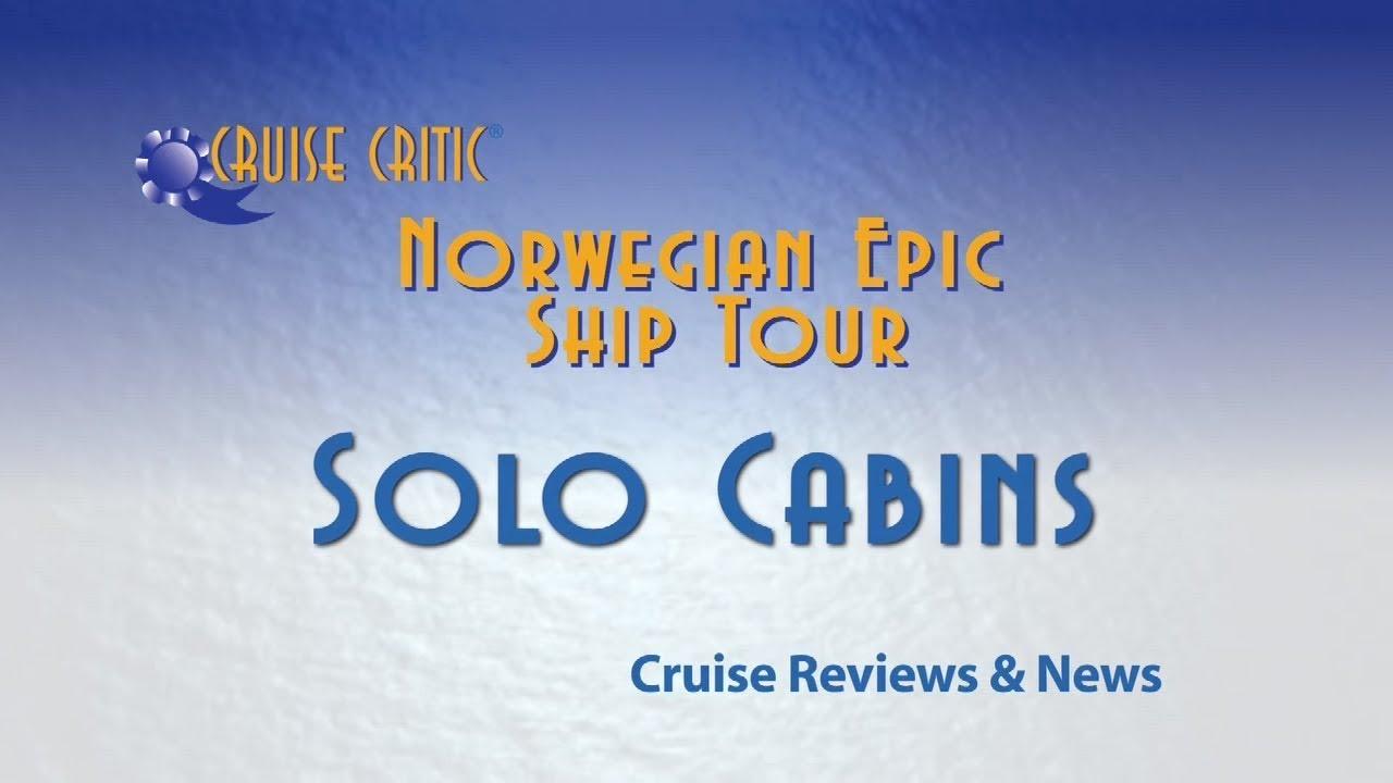 Norwegian Epic Ship Video Tour Solo Cabins Youtube