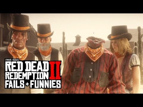 Red Dead Redemption 2 - Fails & Funnies #60