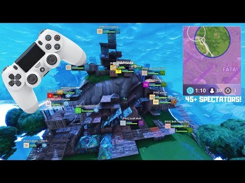 This Is What Stacked Console Scrims Look Like On Fortnite - PS4 (EU)