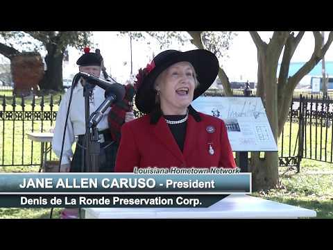 Jan 2019 Commemoration of Battle of New Orleans