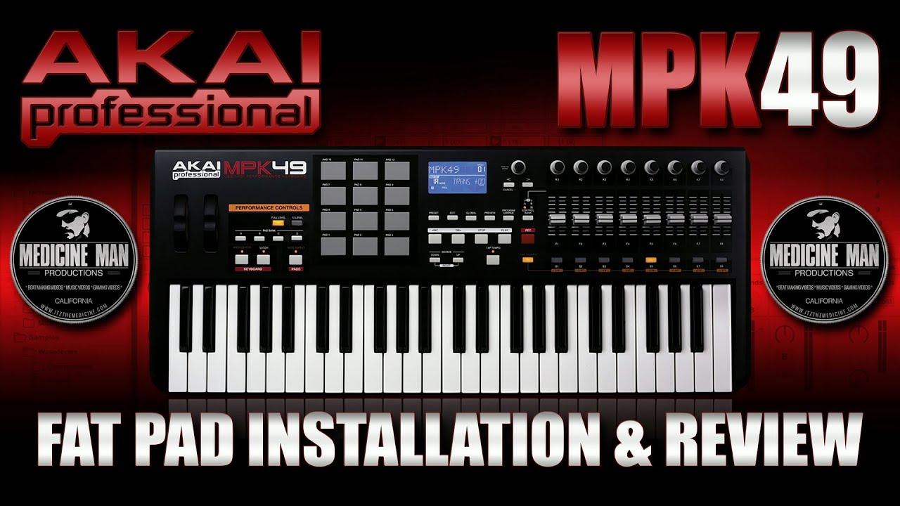 MPK 49 Black Button Replacement Set Kit