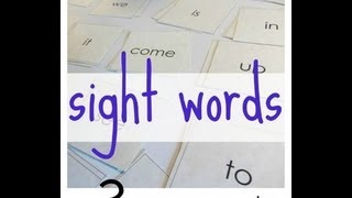 how to play games with sight words | literacy | teachmama.com