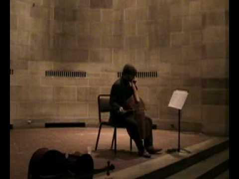 Abel,  Arpeggio for unaccompanied viola da gamba - Steuart Pincombe